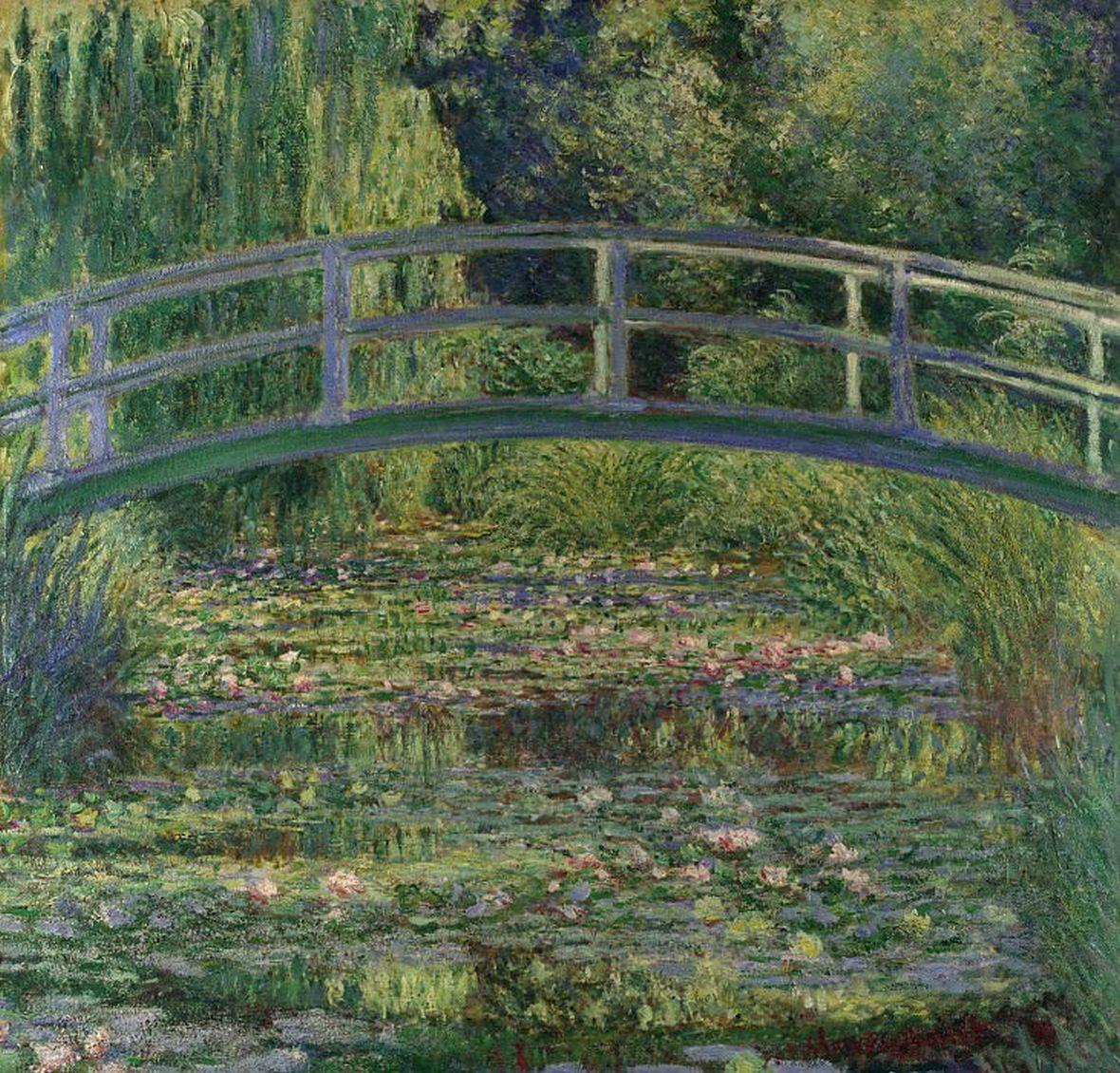 Клод-Оскар Моне - Пруд с водяными лилиями. Часть 2 Национальная галерея
